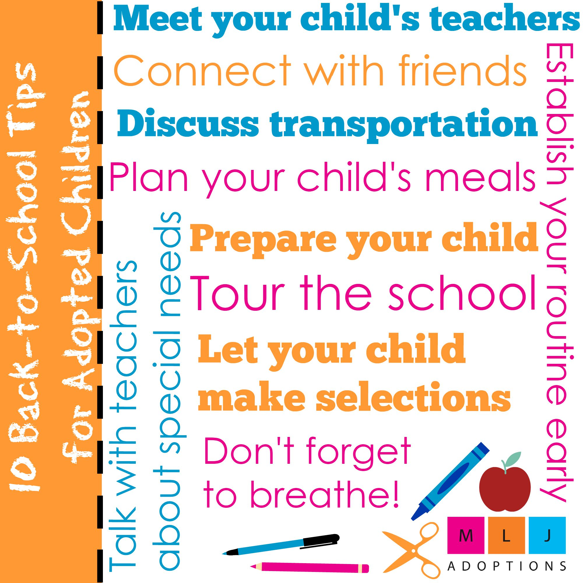 10 Back-to-School Tips for Adopted Children - » ca1f17f5df