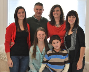 Stacy and her family