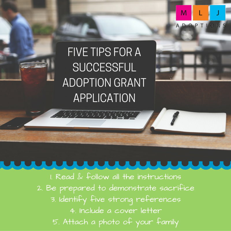 Five Tips for a Successful Adoption Grant Application - »