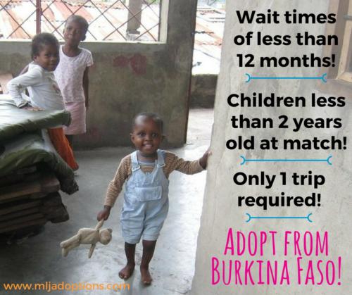Adopting from Burkina Faso