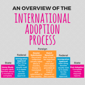 Adoption Process Stairstep Pinterest Graphic
