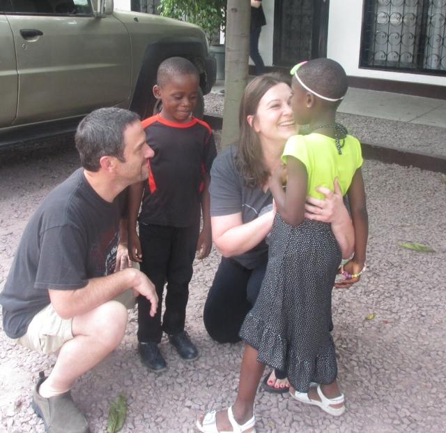 meeting your adoptive child