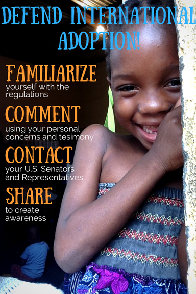 Defend international adoption! Raise your voice on behalf of families, children and agencies who will ...</div> <div class=