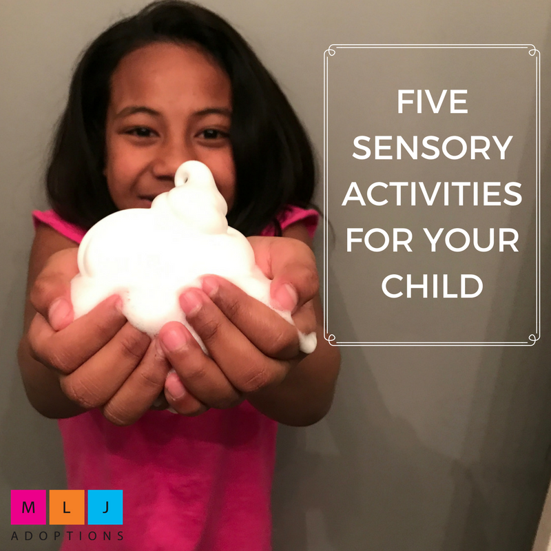 five sensory activities for your child