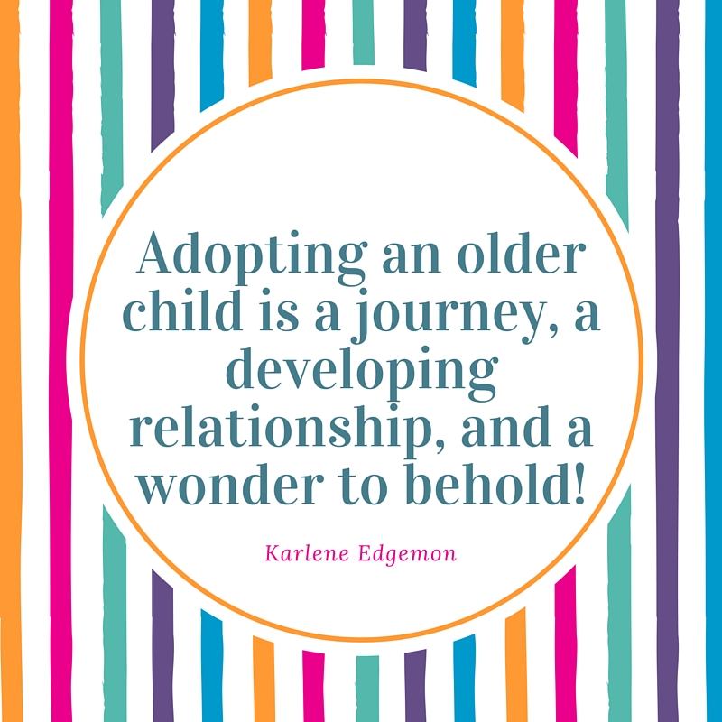 adopting an older child